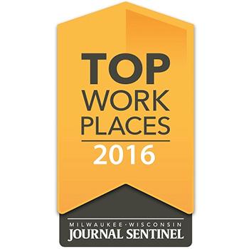 2016 Top Workplace Award logo