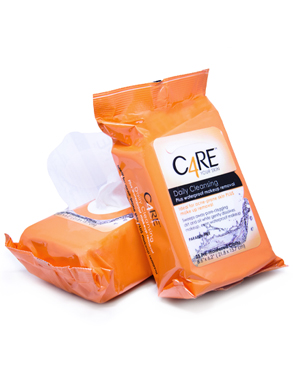 Care4 face wipes